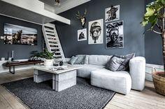 A very eclectic Scandinavian apartment | Håven, Sweden