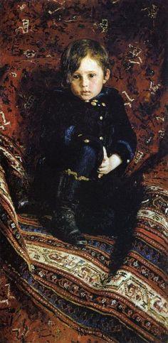 The Artist's Son - Ilya Repin