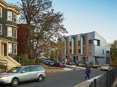 Boston townhouses by ISA produce a surplus of energy