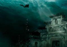lago qiandao | cidade antiga submersa descoberta no Lago de Qiandao