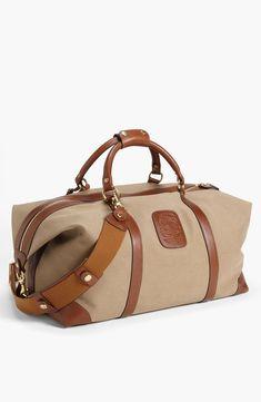 Ghurka 'Cavalier II' Twill Duffel Bag