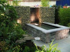 Pond Design, Garden Design, Water Walls, Garden Water, Water Features In The Garden, The Great Outdoors, Lush, Garden Ideas, Landscapes