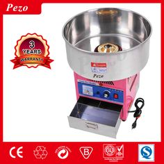 Electric Commercial Cotton Candy Floss Machine Commercial Snack Food Machine with CE