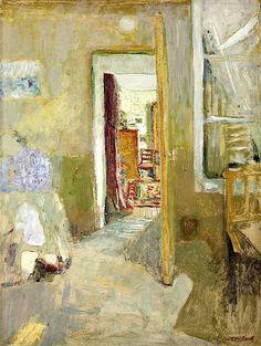 Love the color. bofransson: Edouard Vuillard (1868-1940) La...