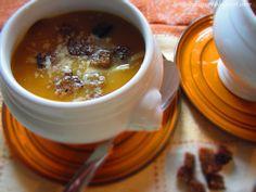 Briciole di Sapori           : Crema di carote e patate con crostini di pane di s...