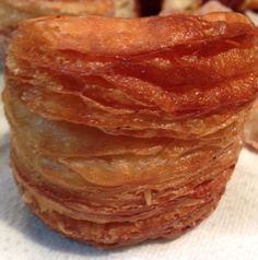 A doughnut?  A croissant?  That's a cronut.  For a much quicker version of this decadent treat go to http://pastrieslikeapro.com/2015/01/speedy-cronuts/#.VLe7WcYaCEM