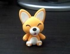 Un renard kawaï: