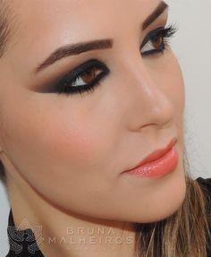 Maquiagem Cat Eyes ~ Bruna Malheiros Makeup