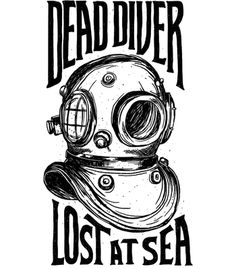 Arte DEAD DIVER de Western!! Disponível em camiseta. Só na Touts!