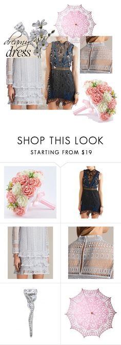 """""""⭐️🌟💫💫🌟⭐️"""" by lolla-cher ❤ liked on Polyvore featuring Vera Wang, self-portrait, AllSaints, Cultural Intrigue and dreamydresses"""