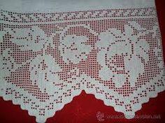 Resultado de imagen para puntillas de crochet para manteles