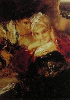 Nikolaos Gyzis Couple - Handmade Oil Painting Reproduction on Canvas Canvas Online, Historical Art, Greek Art, Art Database, Oil Painting Reproductions, Artist Painting, Great Artists, Lovers Art, Les Oeuvres