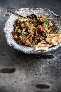Smoky Eggplant Curry Dip - Cook Republic
