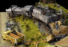 WW2 railroad diorama - Yahoo Image Search Results