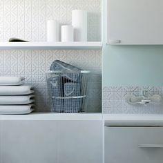 SomerTile Castle White Porcelain Mosaic Tile (Pack of 10) - Overstock Shopping - Big Discounts on Somertile Wall Tiles