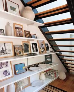 Design Secrets from Remodelista: Utilize open storage for things you use and want to look at most