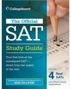 """11. """"Official SAT Study Guide (2016 Edition)"""" by The College Board"""