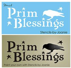 Free Primitive Star Stencil   Stencil Prim Blessings Crow Primitive Star Country Sign   eBay Primitive Homes, Primitive Crafts, Country Primitive, Primitive Sayings, Stencil Wall Art, Bird Stencil, Star Stencil, Face Stencils, Sign Stencils