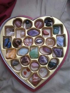 Storing crystals. I've love one of there for Valentines instead