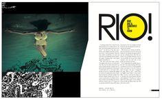 Jonathan Walton   Arena Magazine Spread