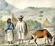 Indios de Coconuco, provincia de Popayán