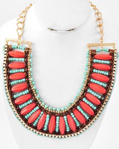 Tribal Tee Cord Necklace
