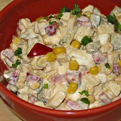 Sałatka z fetą Appetizer Salads, Appetizers, Tortellini, Amazing Cakes, Feta, Salad Recipes, Potato Salad, Food To Make, Catering
