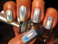 Color Club Halo Hues Blue Heaven by pretty tough nails