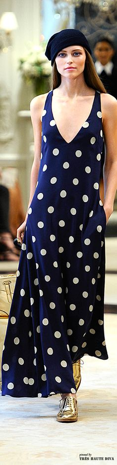 The dots navy