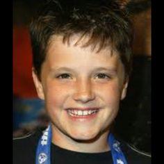 Cute even as a kid<3 Josh hucherson<3