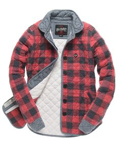 Superdry Kimono Quilted Shirt