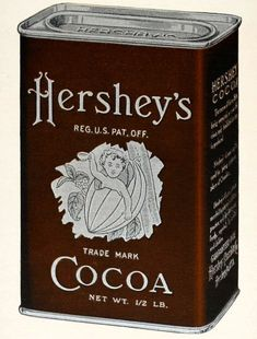 Hershey's rich cocoa fudge recipe from the '70s & '80s Hershey Chocolate, Chocolate Heaven, Chocolate Fudge, Chocolate Recipes, Hershey Cocoa Fudge, Chocolate Dreams, Vintage Tins, Vintage Kitchen, Weird Vintage