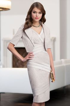 d8f515dd New 2016 Lace Gray Sheath Mother Of The Bride Dresses with Jacket Knee  Length Wedding Formal Party Gowns 2016 Vestido Madrinha-in Mother of the  Bride ...