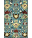 RugStudio presents Kas Tapestry 6811 Blue Hand-Tufted, Good Quality Area Rug ------8X10-----866$----------