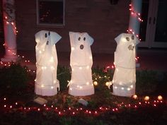 Halloween Decorations That I Can Even Make! Some great ideas that anyone can do!!!