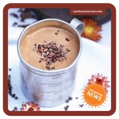 Julie's Hot Chocolate with raw #cacao powder & #coconut-palm-sugar - Julie Morris