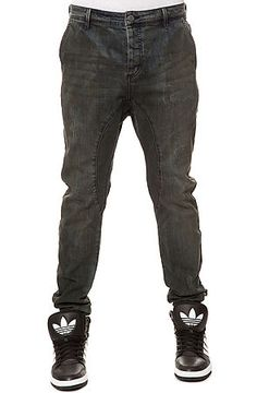 a8cfdac2d8 The Slingshot Denimo Joggers in Dark Grease Wash by Zanerobe