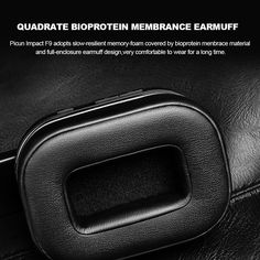 Picun Impact F9 ANC Wireless BT Active Noise Cancelling Headset Sales Online black - Tomtop Noise Cancelling Headset, Earmuffs, Honda Logo, Tech Accessories, Memory Foam, Black, Black People, Ear Warmers