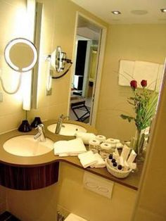 small bathroom   Ramada Solothurn Double Room