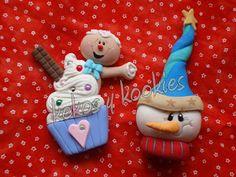 Kekos & Kookies: Modelados de Navidad