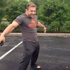 Davey Richards being adorable