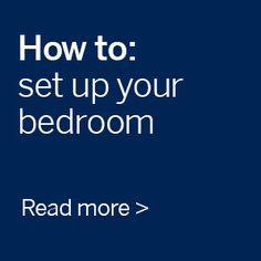 How to set up your bedroom #freedomaustralia #bedroom