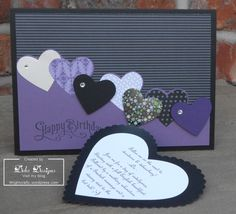 masculine card with invite