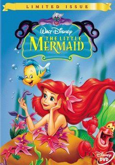 The Little Mermaid DVD 1 disc Disney wide screen Jodi Benson Little Mermaid Movies, Disney Little Mermaids, Disney Love, The Little Mermaid, Walt Disney, Disney Style, Best Disney Movies, Disney Films, Great Movies