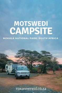 Rain clouds gather over the rustic Motswedi campsite at Mokala National Park. Camping Places, Camping Spots, Kruger National Park, National Parks, Freedom Travel, Wildlife Safari, Camping Style, Road Trip Essentials, Slow Travel