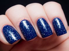 i only have ice for you - KBShimmer Blogger Collection for Winter 2013 Swatch and Review