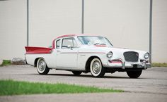 1957 Studebaker Silver Hawk Also the name of the minor league baseball team in South Bend, Indiana, home of Studebaker.