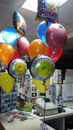 Birthday Balloon Bouquets For A Set Of Twin Boys How Fun Party Rentals