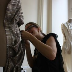 AOF MasterClass 4-week 2013 - Fabric draping with Patricia Fumo from Venezuela