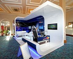 Red Bull - Custom exhibit by Storme Humphriss, via Behance